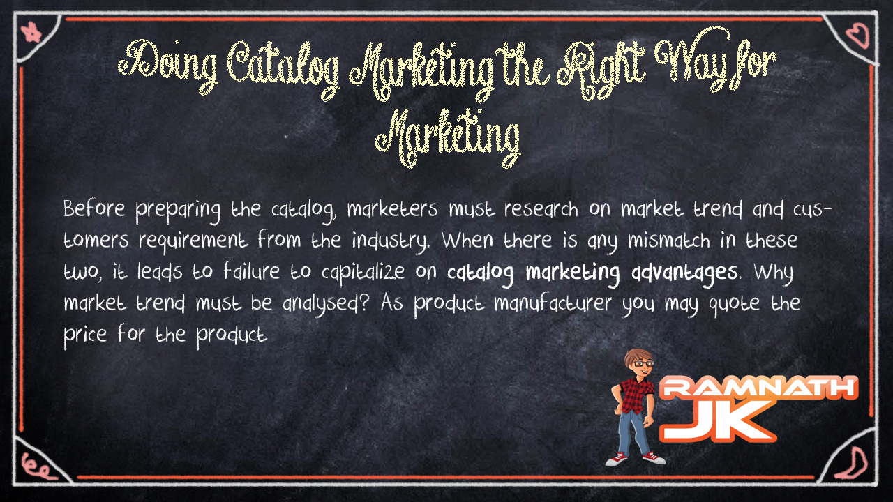 Catalog Marketing Advantages