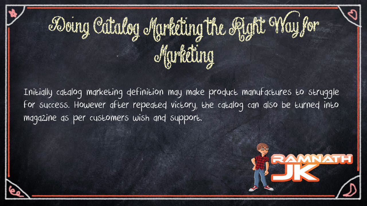 Catalog Marketing Definition
