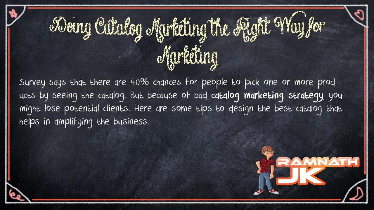 Catalog Marketing Strategy