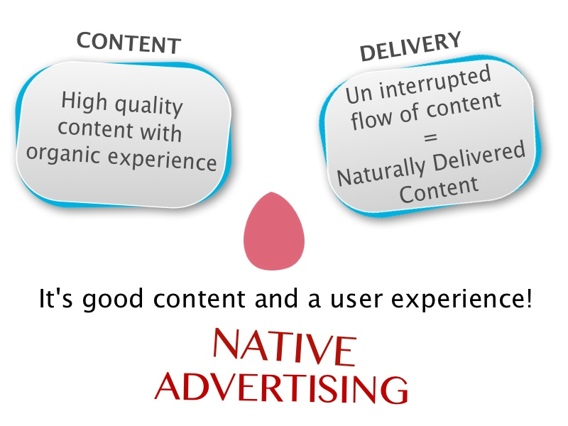 the use of native advertising by consumers The appearance of online editorial content and native, or paid, advertising is blurred in the minds of consumers, according to a research study from the university of.